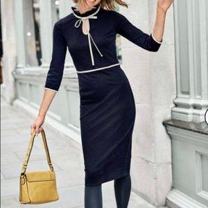 NWT Boden Layla Ponte Dress, size US 8R